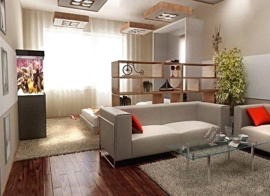 Минимализм – лучшее решение для небольшого помещения