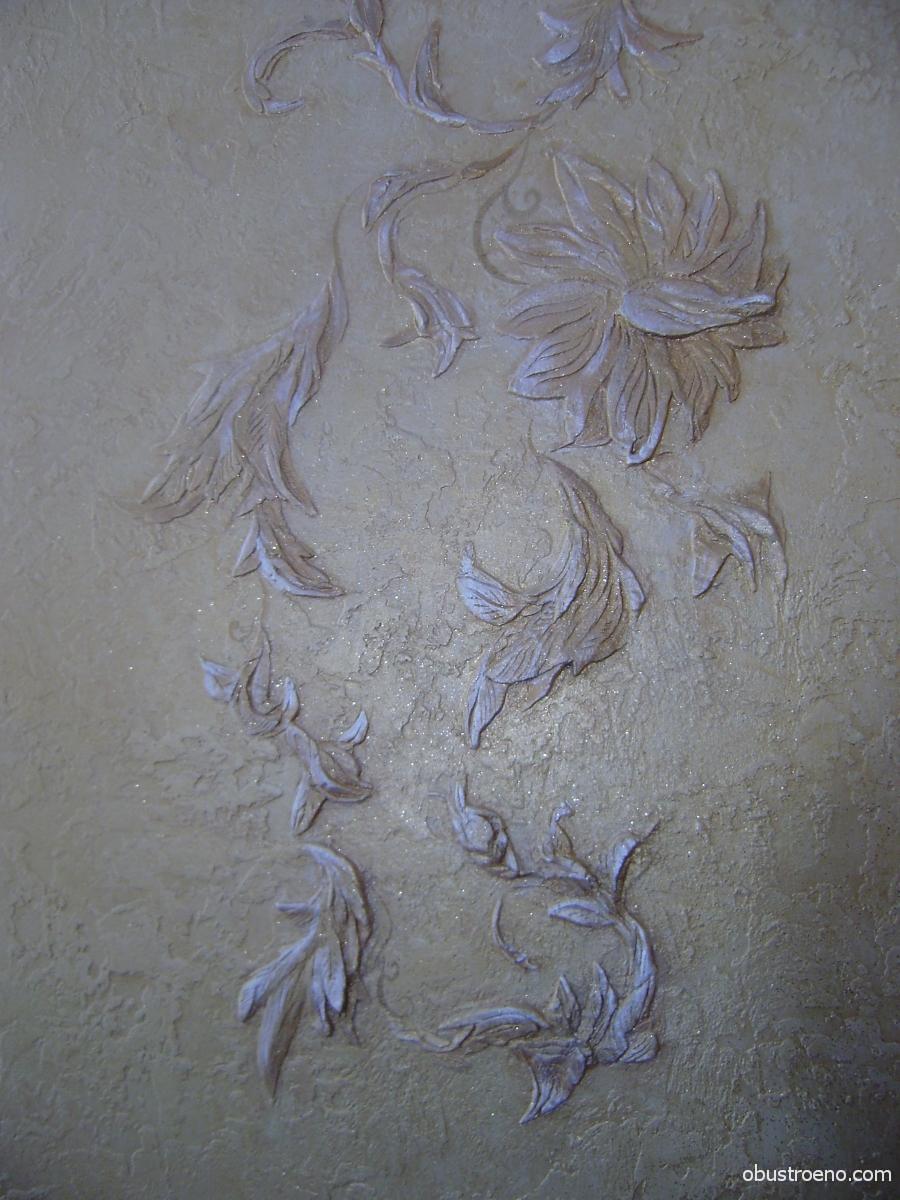 Декоративная штукатурка своими руками из шпаклевки мастер класс