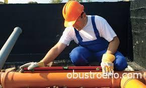 На фото – на самом деле расчет уклона канализационных труб является наиболее важной частью проектирования системы канализации.