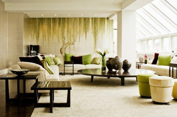 Немного приглушенной зелени и природного темно-коричневого для тех, кто знает, какова цена спокойствия и уюта
