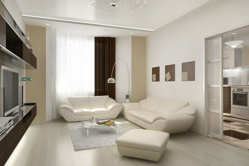 интерьер комнаты 18 кв. м. фото