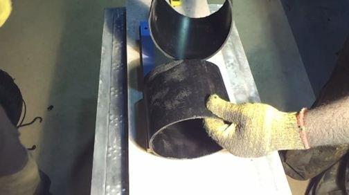 Обрезки труб, которые будем варить в качестве примера