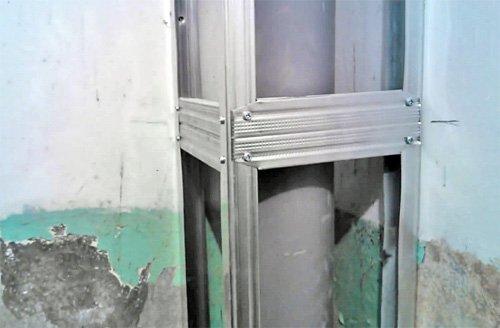 Короб из гипсокартона для труб в туалете стоимость