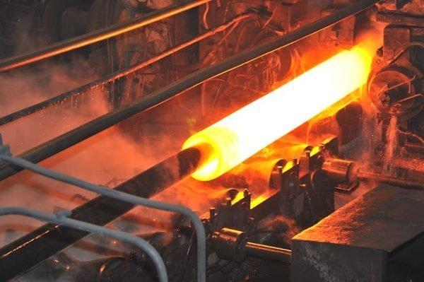 Пример изготовления горячекатаного цилиндрического изделия