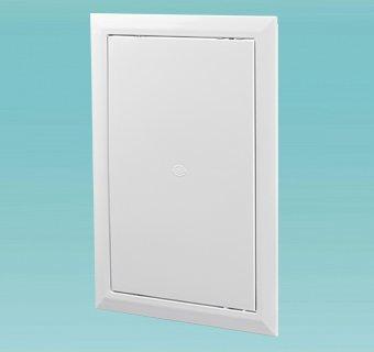 Пример ревизионной дверцы из поливинилхлорида