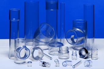 Прозрачные фитинги из поливинилхлорида