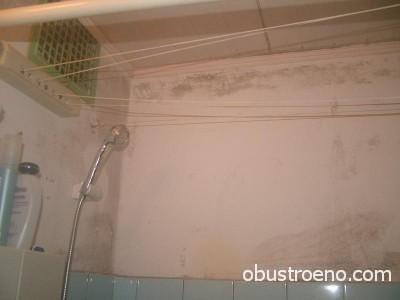 Результаты недостаточной вентиляции ванного помещения – явные очаги плесени и дурного запаха.