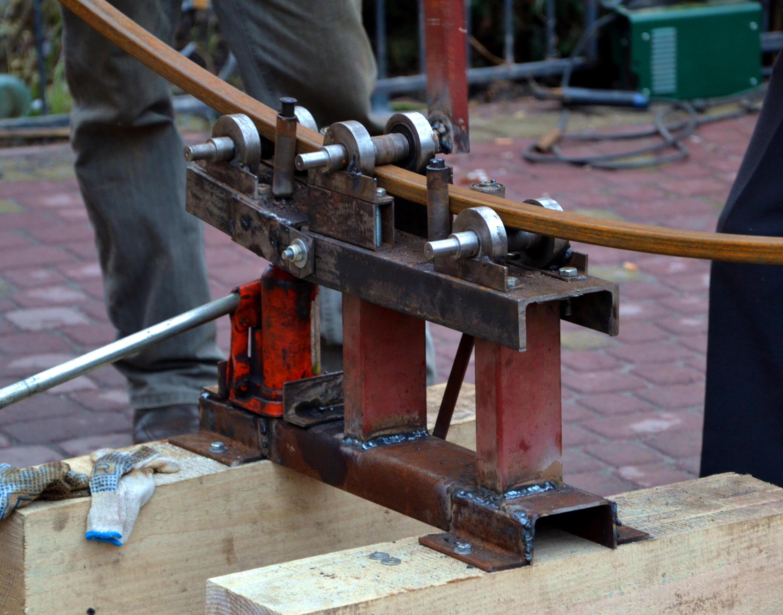 Как сделать гибочник для профильной трубы