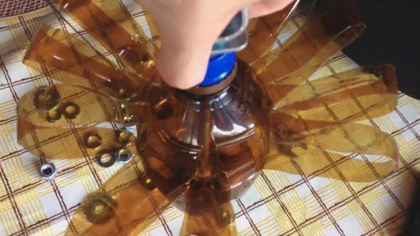 Самодельный ерш из пластиковой полуторалитровой бутылки