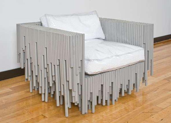 Кровать своими руками из полипропиленовых труб