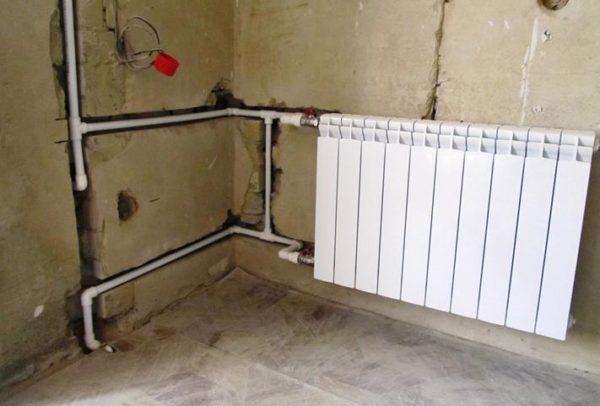 Скрытый монтаж труб в стенах