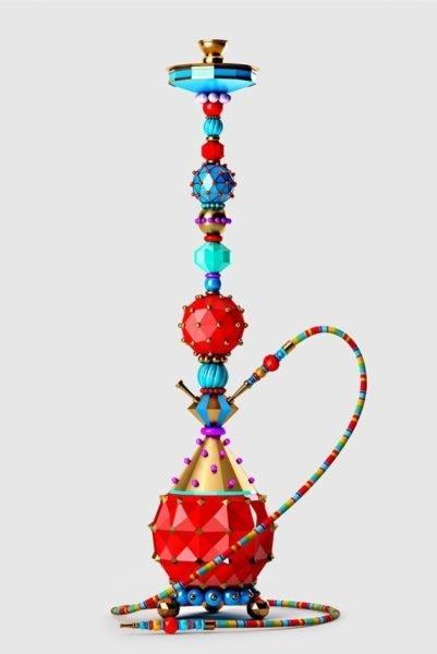 Современная модель кальяна.