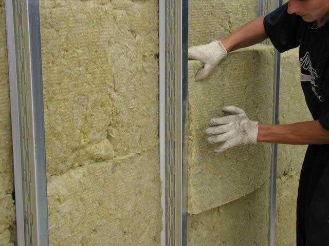 Утепление стен каменной ватой своими руками видео