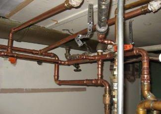 Водопровод из медных труб – решение для обеспеченных людей.