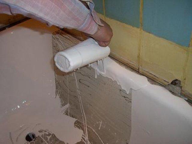 Восстановление эмали в ванне