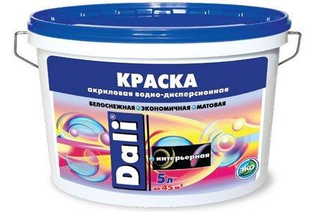 Акриловая краска для использования в ванной.