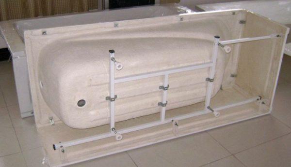 Армирующий каркас для акриловой ванны.