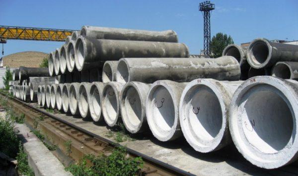 Безнапорные бетонные трубы для наружной и ливневой канализации.