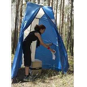 Как сделать туалет в походных условиях своими руками