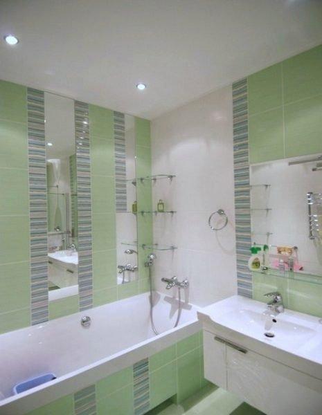 Дизайн ванной комнаты площадью 4 квадратных метра