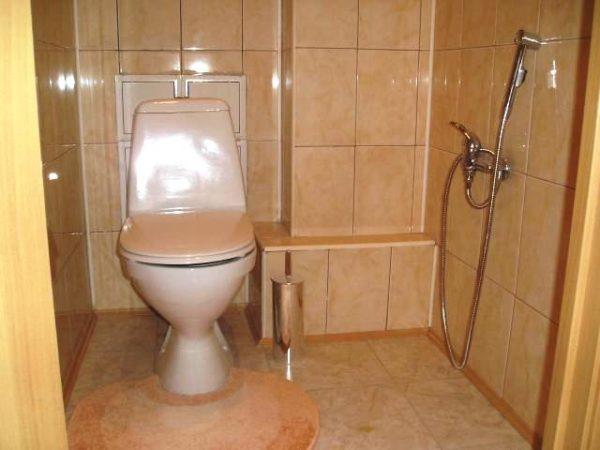 Как крепить гигиенический душ