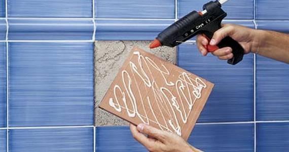 Для ремонтных работ термоклей тоже подойдет