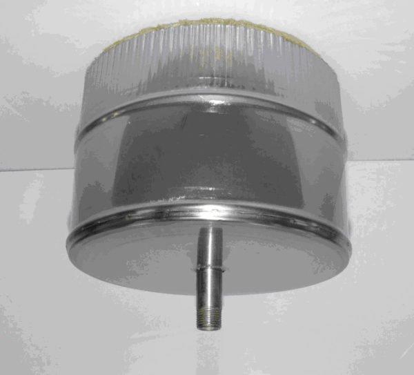 Доборный элемент для отвода конденсата из трубы.