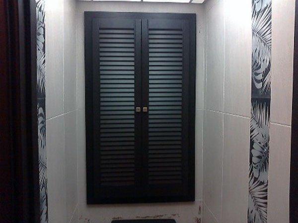дверцы в туалет для шкафа 2 самых популярных варианта