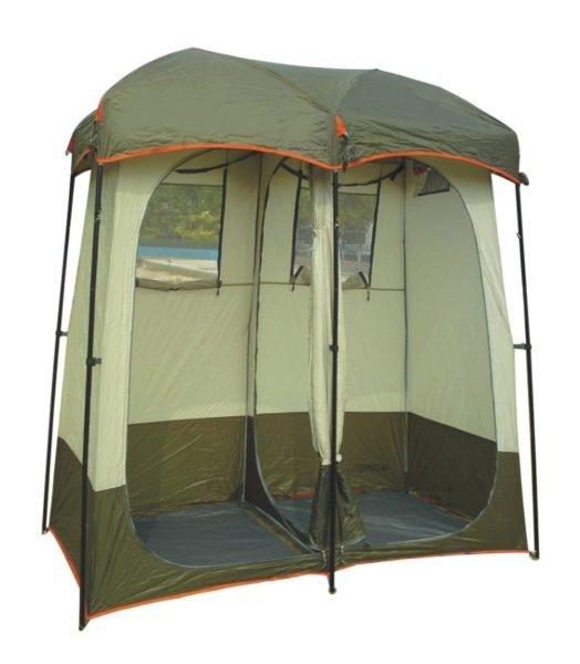 Двухместная палатка для душа и туалета