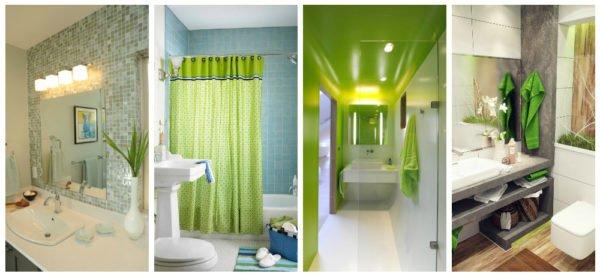 Если вы не готовы к масштабному «озеленению», используйте цвет дозировано в аксессуарах