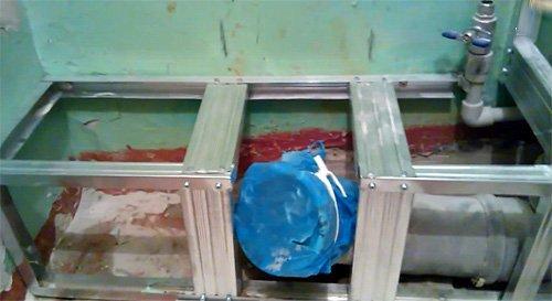 Как сделать короб на трубы из гипсокартона