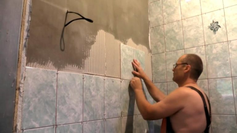 Как положить плитка для ванной своими руками