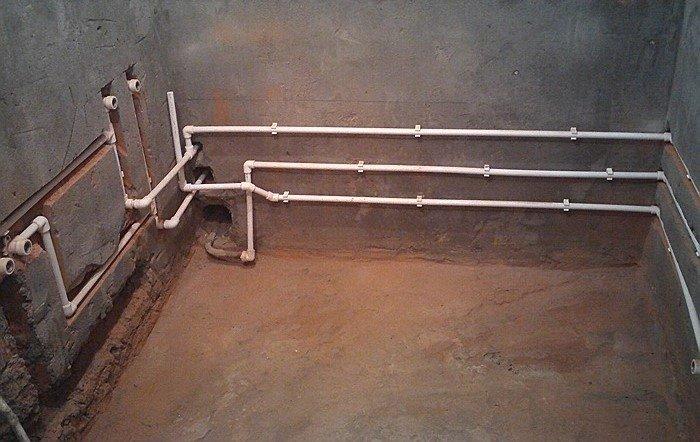 Трубы для водопровода монтаж