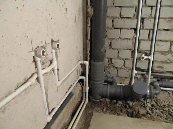 Грамотная разводка труб– залог правильного функционирования сантехнических приборов.