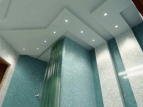 Из гипсокартона можно соорудить потолок любой сложности