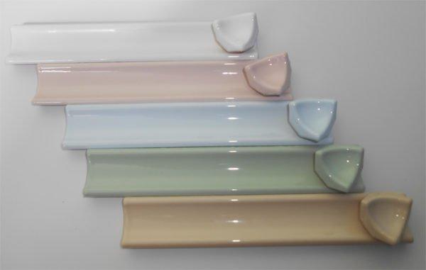 Керамические бортики разных цветов