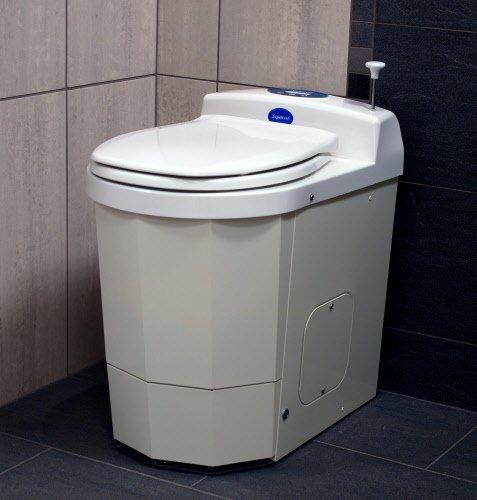 Мобильный электрический туалет марки Separett-Flame.