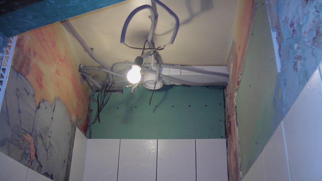 Как правильно сделать потолок в ванне