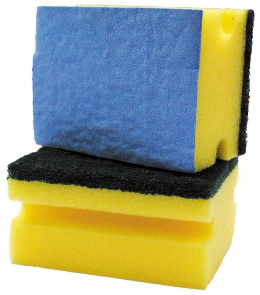Мыть ванну можно лишь мягкой поверхностью губки