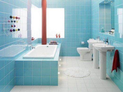 Как очистить кафель в ванной