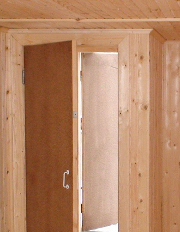 звукоизоляция входные двери с тамбуром