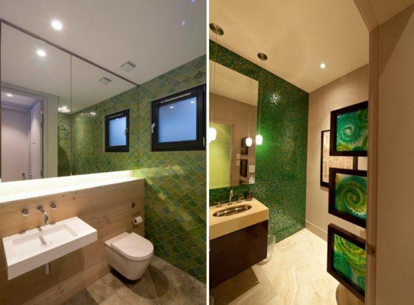 Необычная дизайнерская плитка может смело претендовать на роль главного декоративного элемента ванной (цена – от 620 руб.)