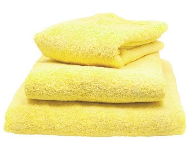Образец полотенца лимонного колера