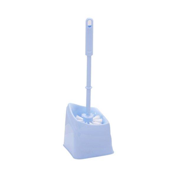 Одна из самых простых щеток для унитаза с подставкой из пластика