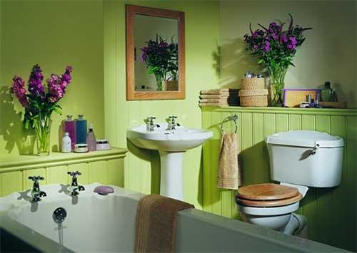 Окрашенные стены – отличный способ декорирования поверхностей.