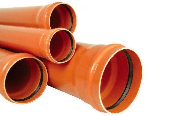 Оранжевым цветом маркируются трубы для наружной прокладки.