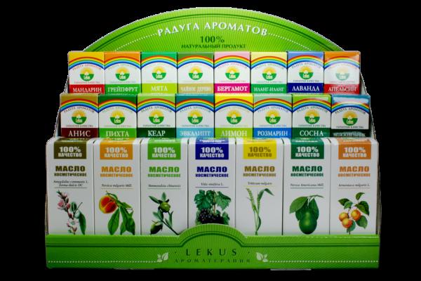 Основной источник приятного запаха - эфирные масла
