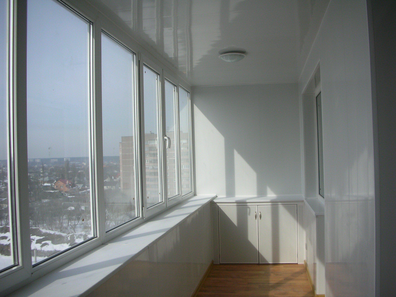 схема монтажа алюминиевых балконов