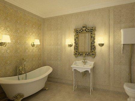 Светильник для ванной комнаты настенный влагозащитный