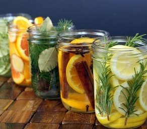 Освежители с природными источниками аромата